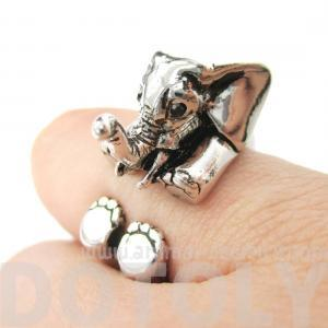 3D Baby Elephant Animal Wrap Around..