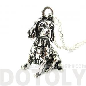3D Detailed King Charles Spaniel An..